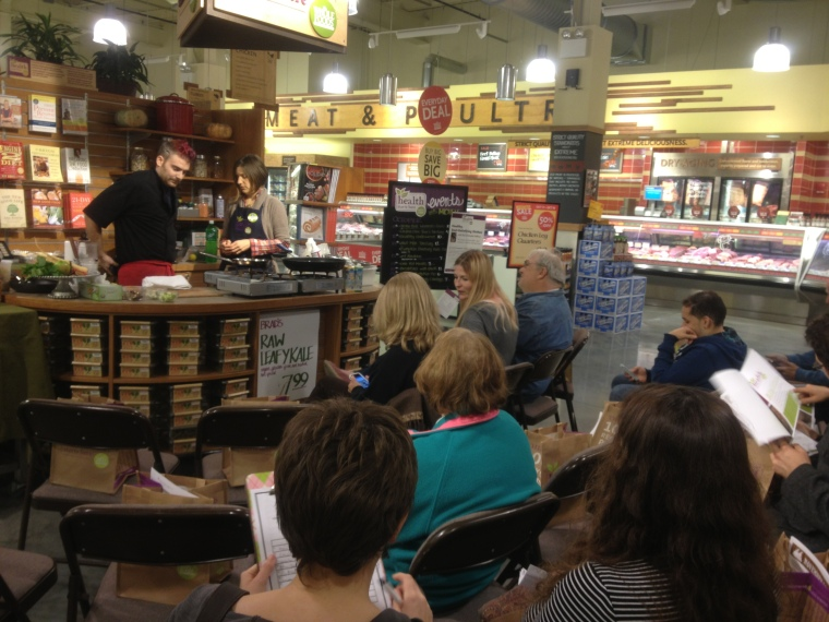 Chef Christopher Holland, Session Bistro, and Michele Santo, Whole Foods Market Paramus