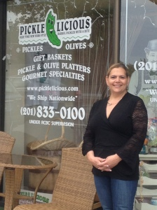 Robyn Samra, founder and owner of Pickle Licious in Teaneck.