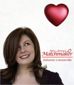 New Jersey's Matchmaker Julianne Cantarella will speak about finding love after 40.