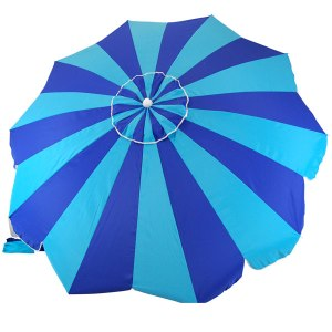 The Beach Store 20 Panel Blue Umbrella