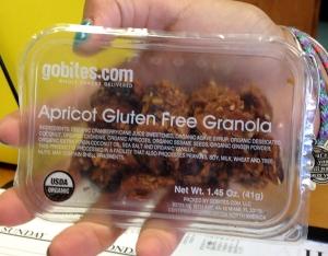 GoBites Apricot Gluten Free Granola