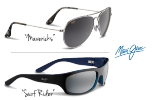 "Maui Jim ""Mavericks"" and ""Surf Rider"" Sunglasses"