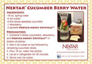 Homemade Sports Drink from Nektar Naturals