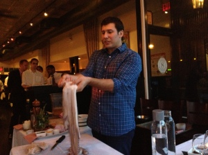 A thorough explanation of working with octopus by Chef Constantine