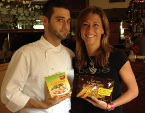 Sous Chef Anthony and Sister Maria Carlino, Crafting Italian Traditional Cuisine With Gluten-Free Ingredients at La Riviera Trattoria