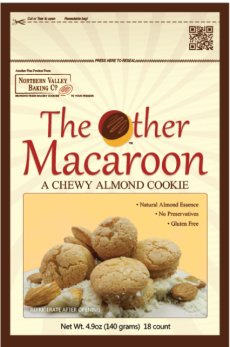 The Othe Macaroon is a bakery fresh cookie you can keep in your freezer!