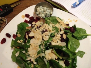 Cranberry Blue Salad