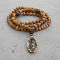 Sandalwood Mala Yoga Bracelet