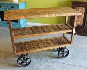 Rolling cart ($480)