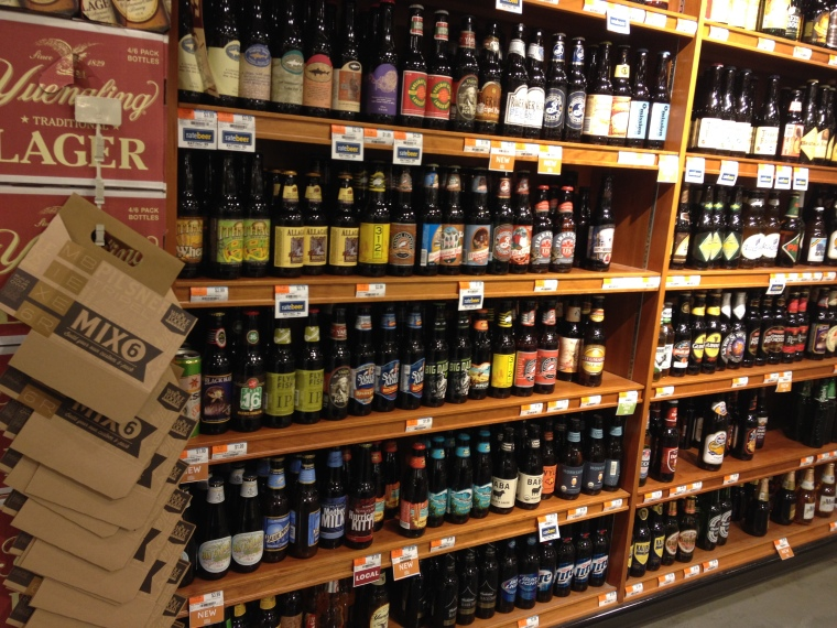 Whole Foods Market in Paramus has a great selection of local brews, easy to customize into zesty 6 packs to suit all palates