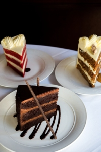 decadent cakes made on premises